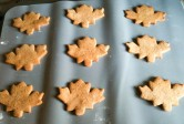 Maple Leaf Biscuits