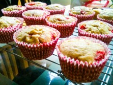 Strawberry and White Chocolate Muffins